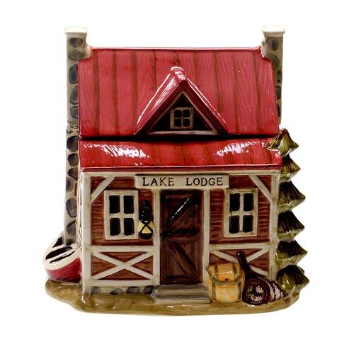 Lakeside Lodge 3-D Cookie Jar