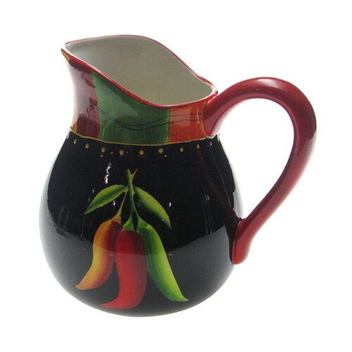 Certified International Caliente by Joy Hall Pitcher