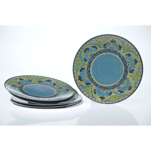 "Certified International Mexican Tile 12"" Dinner Plate"