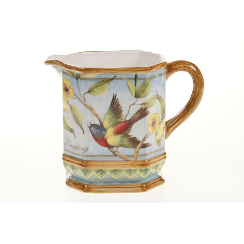 Botanical Birds 2.5-qt. Pitcher