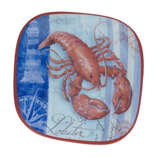"Certified International Lobster by Geoff Allen 8.5"" Plate"