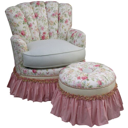 English Bouquet Adult Princess Glider Rocker