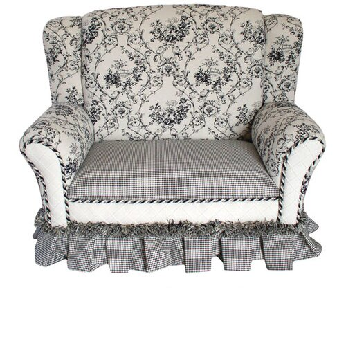 Angel Song Child's Wingback Loveseat