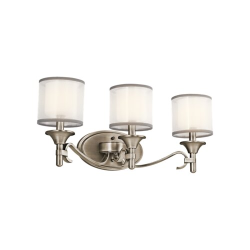 Kichler Lacey 3 Light Bath Vanity Light