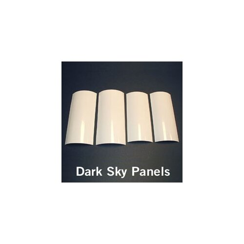 "Kichler 10"" Dark Sky  Panel Sets in White"