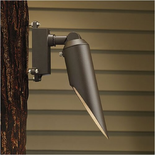 Kichler Adjustable Mini Accent Light with Long Cowl and Surface Mount