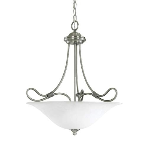 Stafford 3 Light Inverted Pendant
