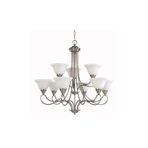 Kichler Stafford 9 Light Chandelier