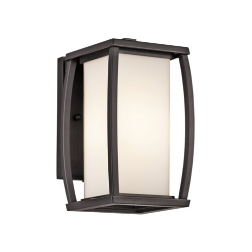Kichler Bowen 1 Light Outdoor Wall Lantern