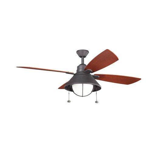 """Kichler 54"""" Seaside 4 Blade Ceiling Fan"""