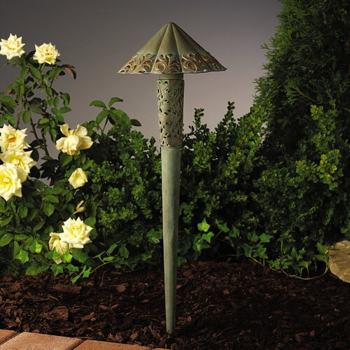 Kichler Ainsley Square Filigree Landscape Path Light