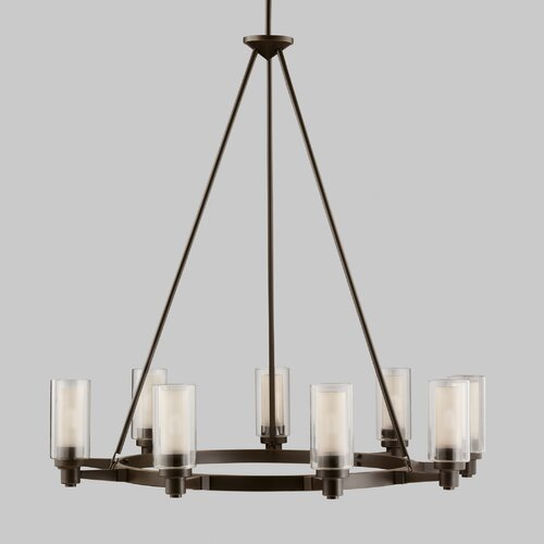 Kichler Circolo 9 Light Chandelier