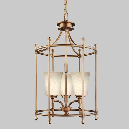 Wharton 3 Light Foyer Pendant