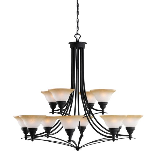 Pomeroy 12 Light Chandelier