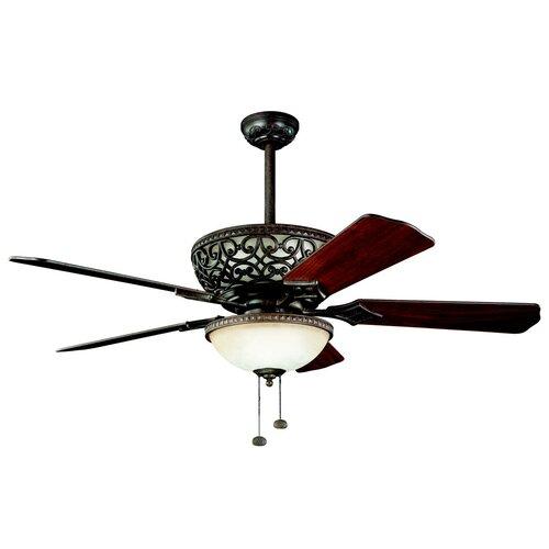 """Kichler 52"""" Cortez 5 Blade Ceiling Fan"""