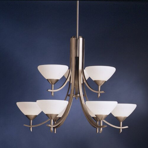 Kichler Olympia 9 Light Chandelier