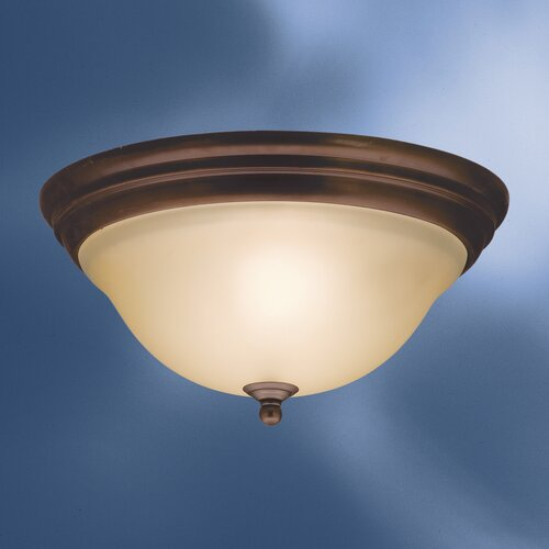 Kichler Telford 2 Light Flush Mount