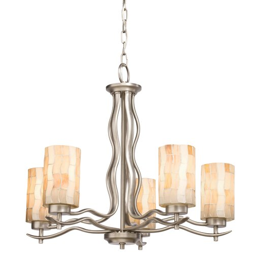 Kichler Modern Mosaic 5 Light Chandelier