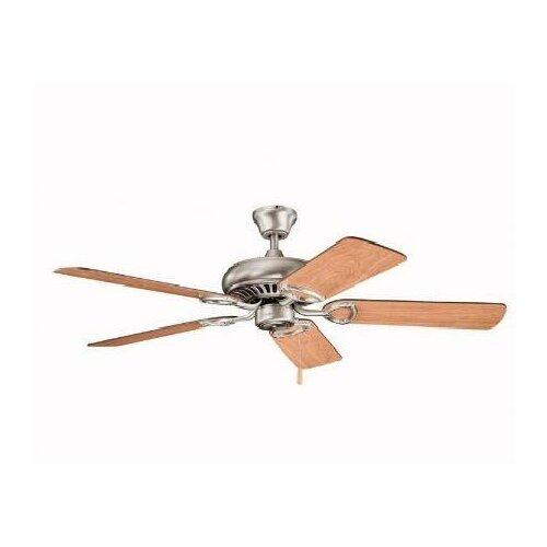 """Kichler 52"""" Sutter Place 5 Blade Ceiling Fan"""
