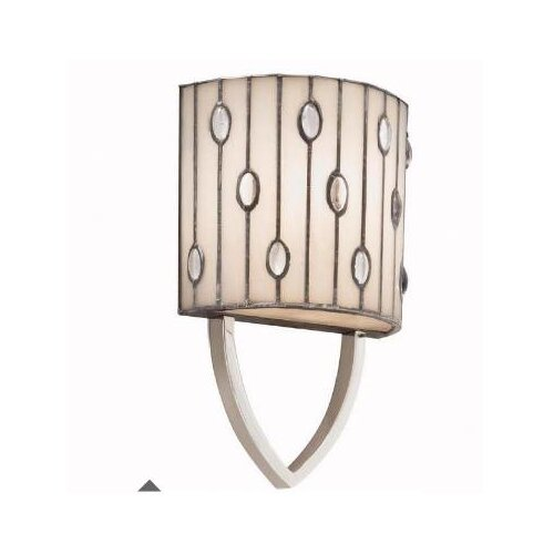 Kichler Cloudburst Wall Sconce in Polished Nickel