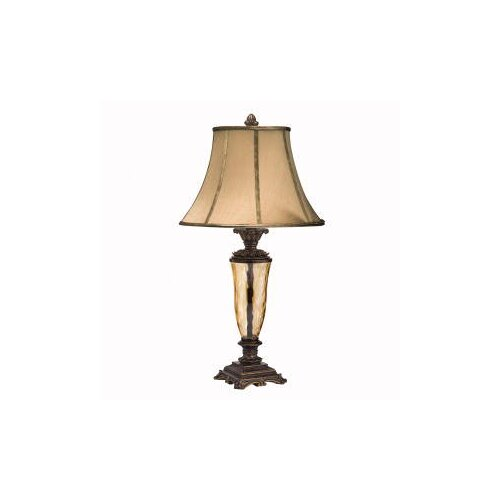 "Kichler Westwood Cheswick 30.25"" H Table Lamp with Bell Shade"