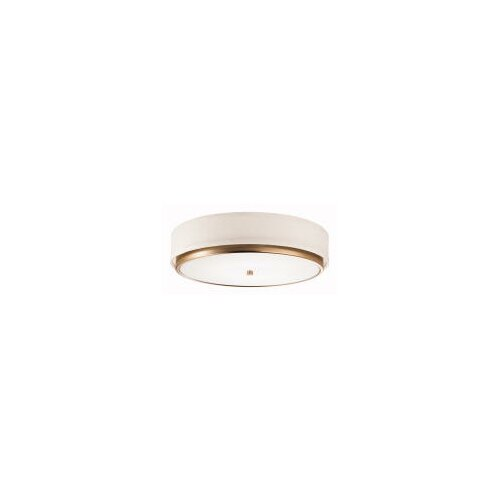 "Kichler Marbrisa 16.13"" 1 Light Flush Mount"