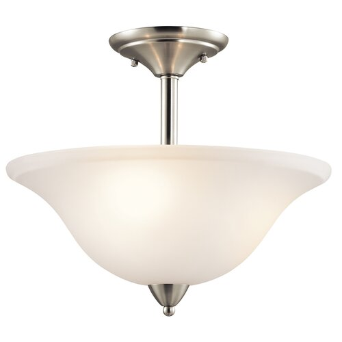 Kichler Nicholson 3 Light Semi Flush Mount
