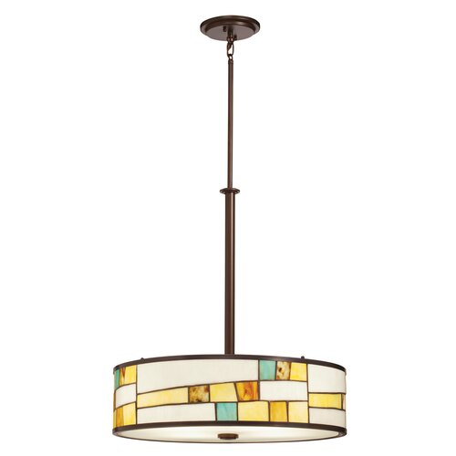Mihaela 4 Light Drum Pendant