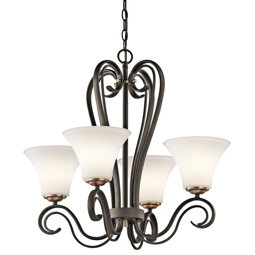 Kichler Claridge Court 4 Light Chandelier