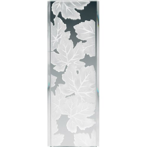 Stocked Glass Panel Maple Leaves
