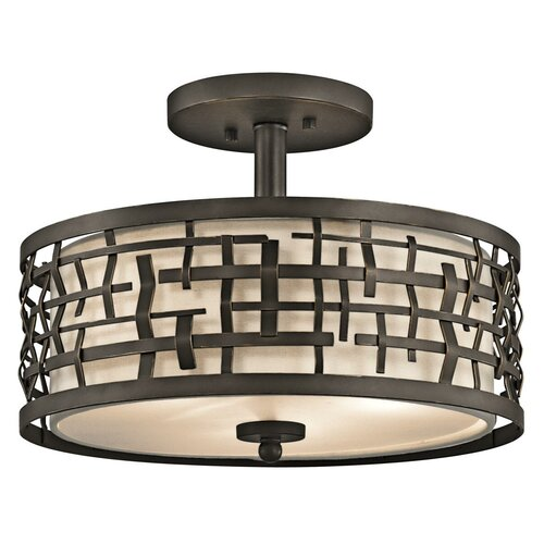 Kichler Loom 2 Light Semi Flush/Pendant