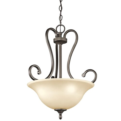 Kichler Feville 3 Light Inverted Pendant