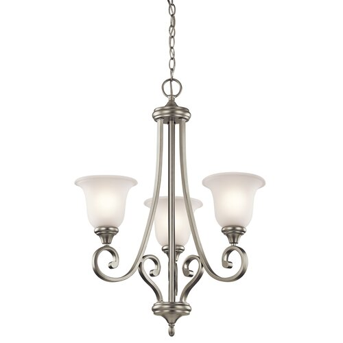Kichler Monroe 3 Light Builder Chandelier