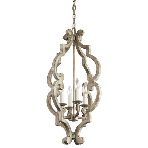 Hayman Bay 4 Light Foyer Chandelier