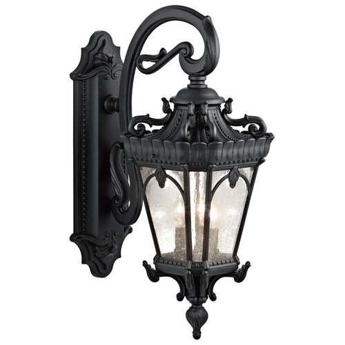 Kichler Tournai 3 Light Outdoor Wall Lighting