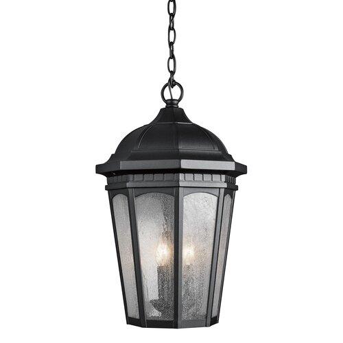 Kichler Courtyard 3 Light Outdoor Hanging Lantern