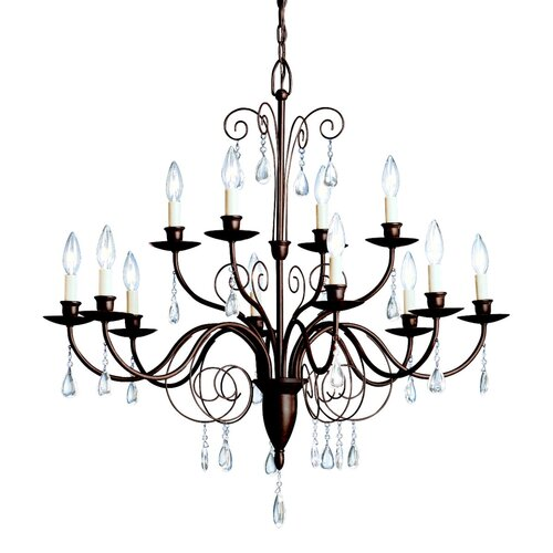 Kichler Barcelona 12 Light Chandelier
