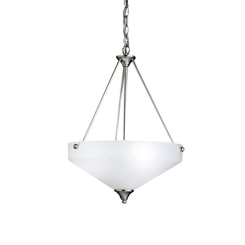 Ansonia 3 Light Inverted Pendant