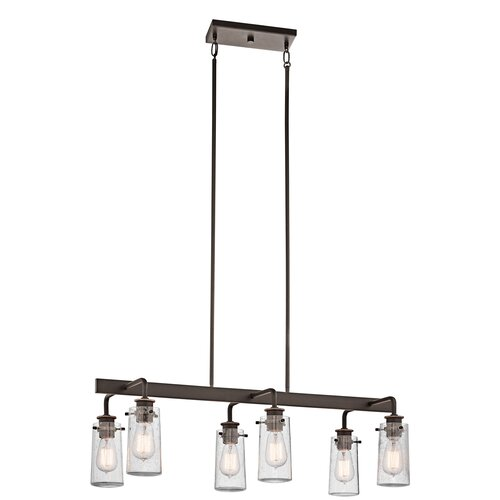Braelyn 6 Light Linear Chandelier