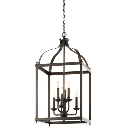 Kichler Larkin 6 Light Foyer Pendant Reviews Wayfair