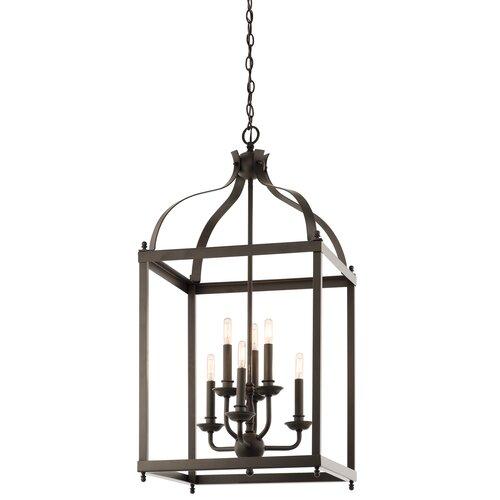 Foyer Lighting Lantern : Kichler larkin light foyer pendant reviews wayfair