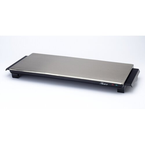 Hostess Aficionado Cordless Hot Tray in Brushed Steel