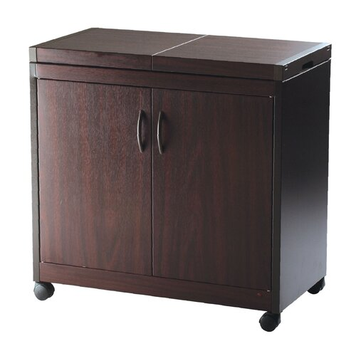 Hostess Connoisseur Trolley in Mahogany
