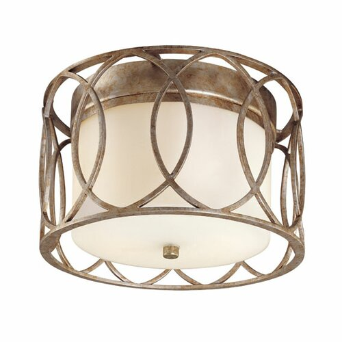 Troy Lighting Sausalito 2 Light Flush Mount