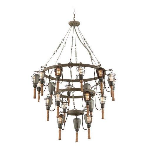 galvanized light fixture wayfair. Black Bedroom Furniture Sets. Home Design Ideas