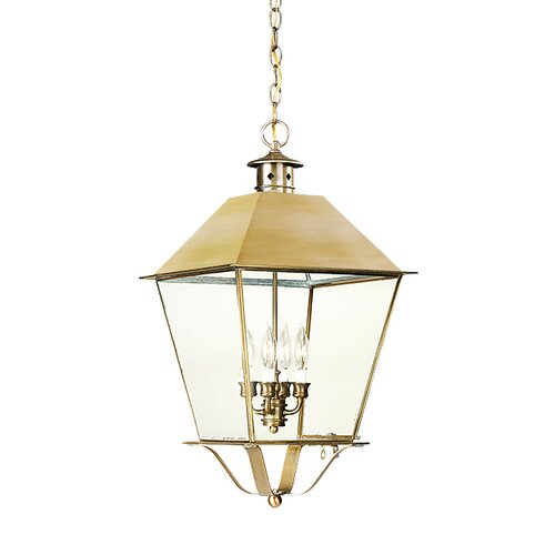 Troy Lighting Montgomery 4 Light Hanging Lantern