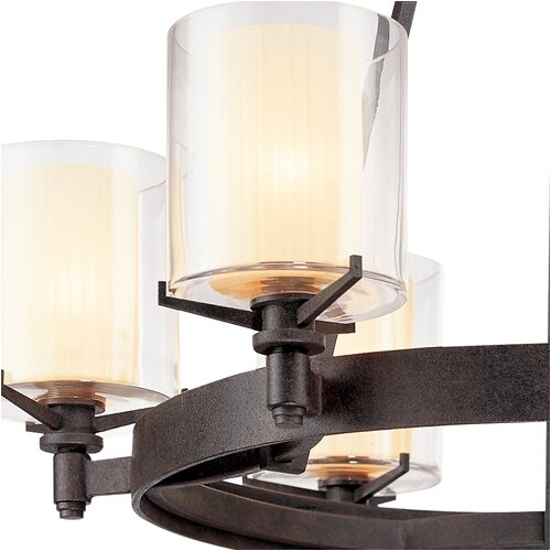 Troy Lighting Arcadia 6 Light Chandelier