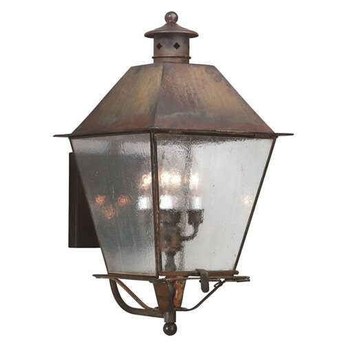 Troy Lighting Montgomery 4 Light Wall Lantern