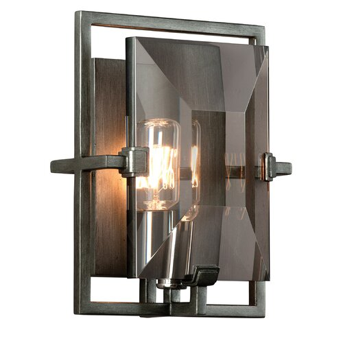 Troy Lighting Prism 1 Light Wall Sconce with Glass