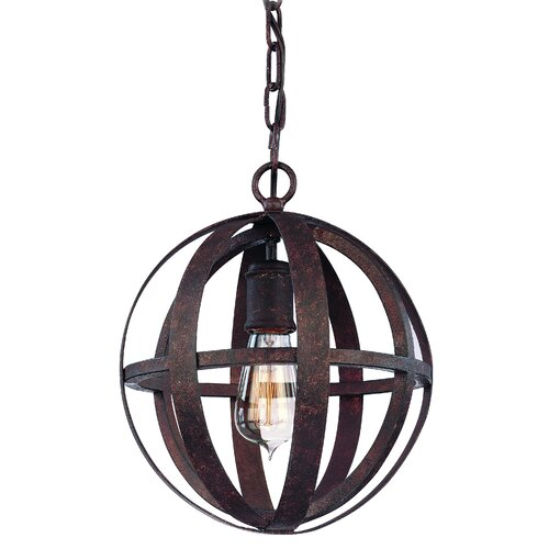 Flatiron 1 Light Small Pendant